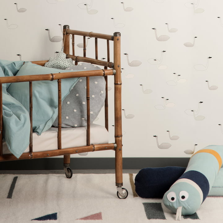 ferm living colorful nursery