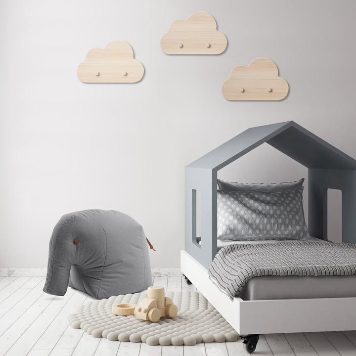 Stuffed elephant for the children's bedroom