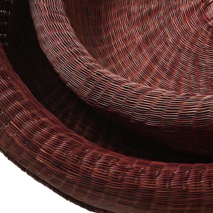 Fibra basket by ames in detail