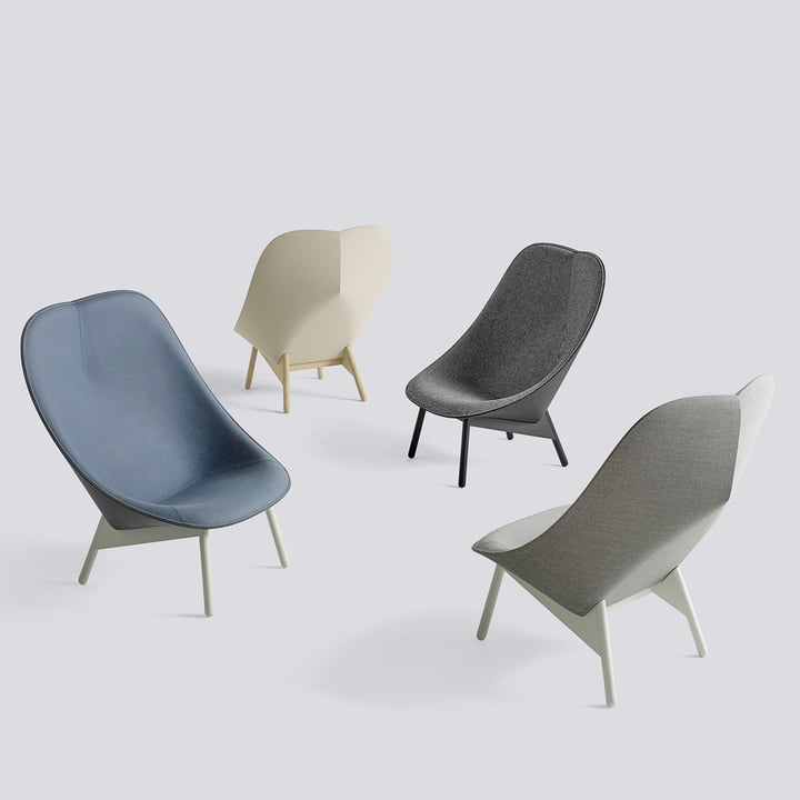 Uchiwa Armchair by Hay in Different Variations