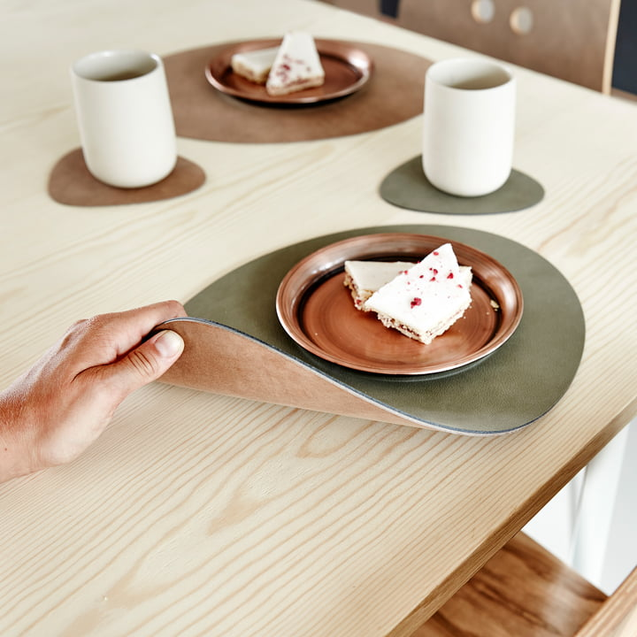 Table Mat Curve L Double by LindDNA