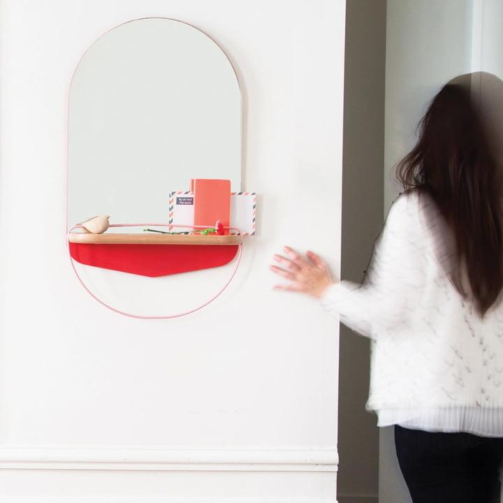Modest Wall Mirror by Hartô