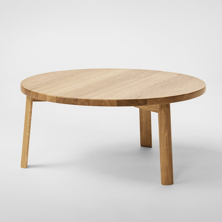 Million - Ease Coffee Table Ø 90 cm, natural oak