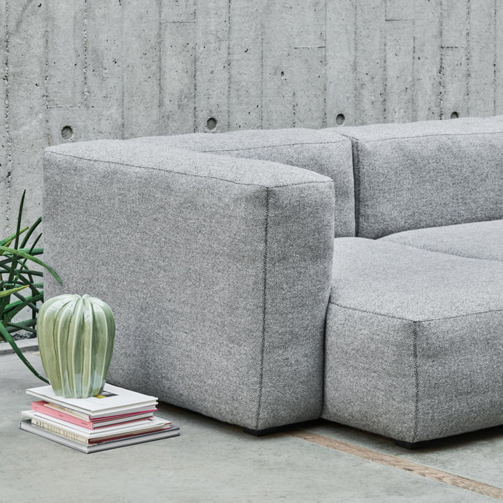 Hay - Mags Soft Sofa, 3-Seater, Hallingdal 116 with Cactus