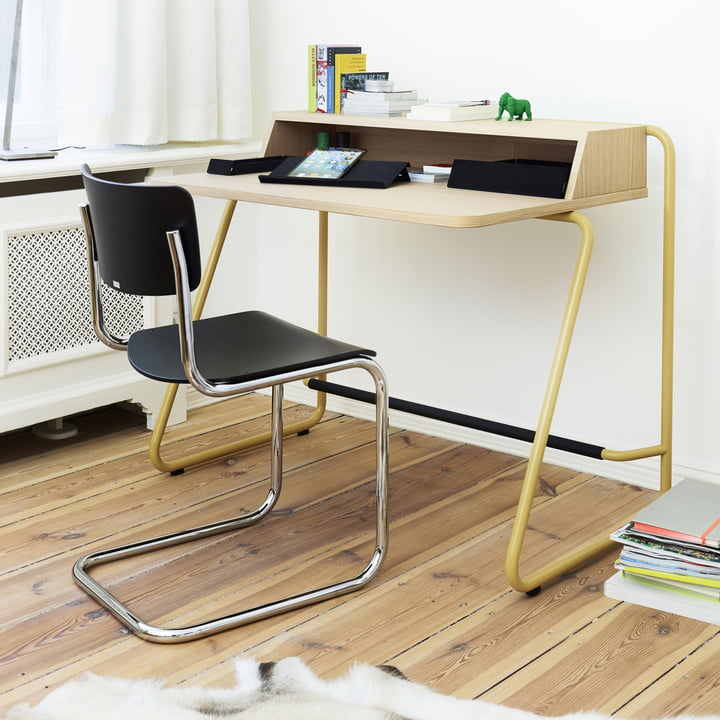 S 1200 Secretary Desk and S 43 Chair by Thonet