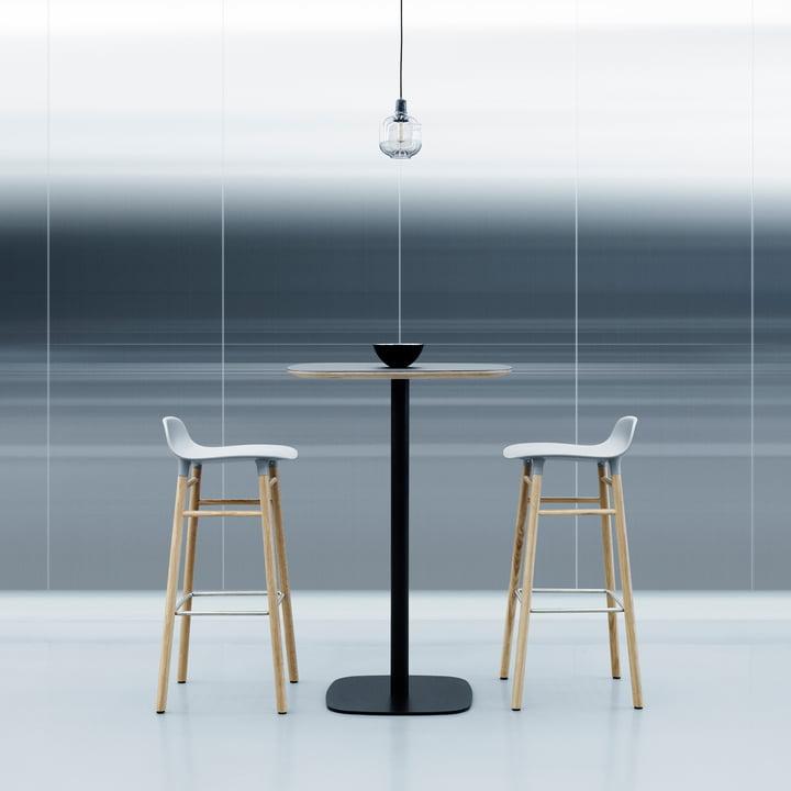 Form Bar Stool 75 Wood By Normann Copenhagen
