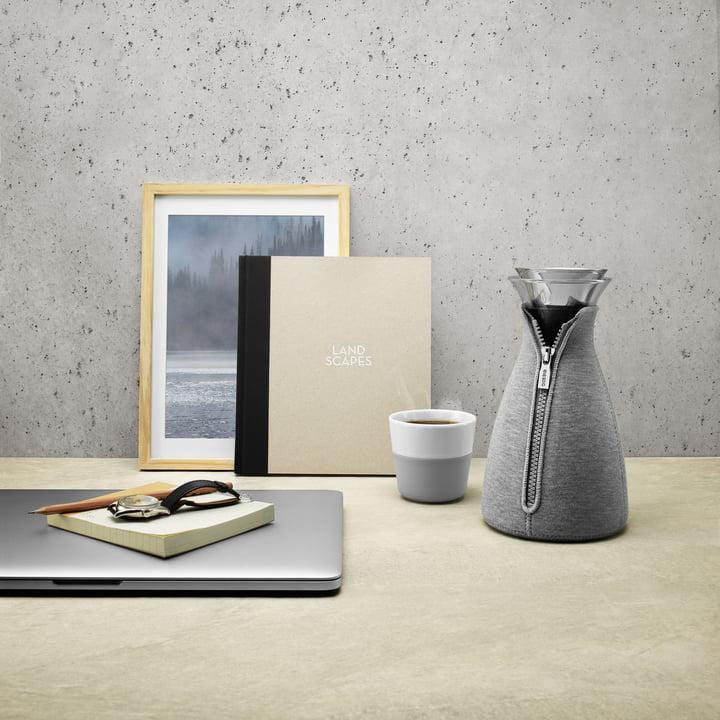 Eva Solo - CafeSolo coffee maker, woven, light grey, 1 L