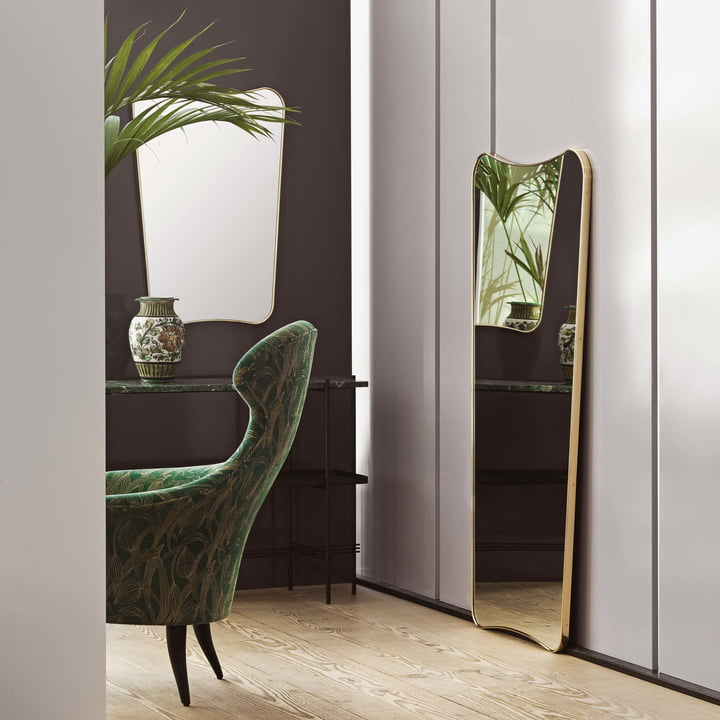 F.A. 33 Wall Mirror by Garner in Various Sizes