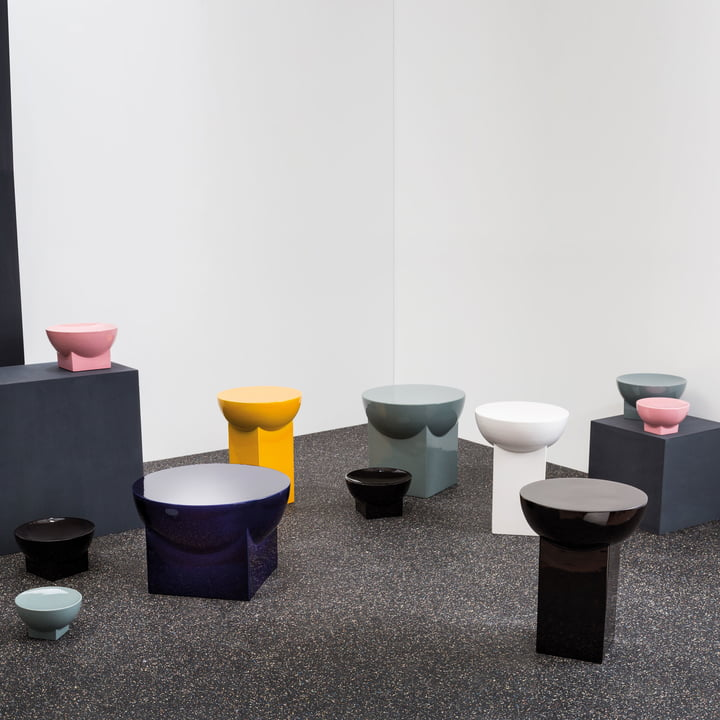 Mila Table and Bowl by Pulpo