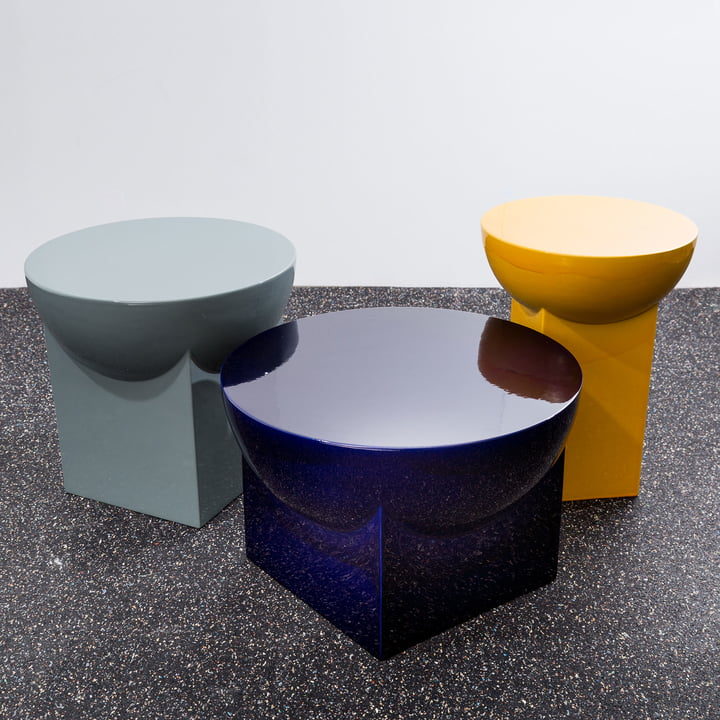 Mila Tables by Sebastian Herkner for Pulpo