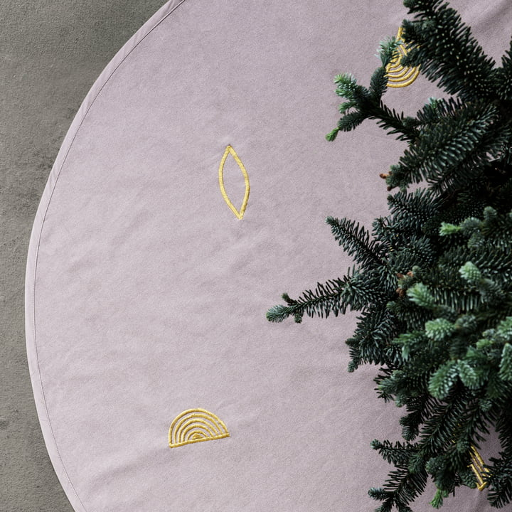 ferm living - Christmas Tree Blanket Ø 120 cm