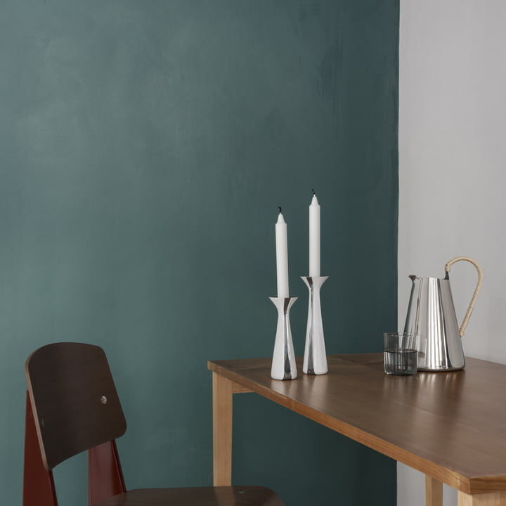 Unified Candleholder by Stelton on the Dining Table