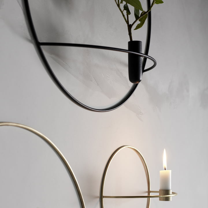 The Pov Circle Candleholder and Vase by Menu