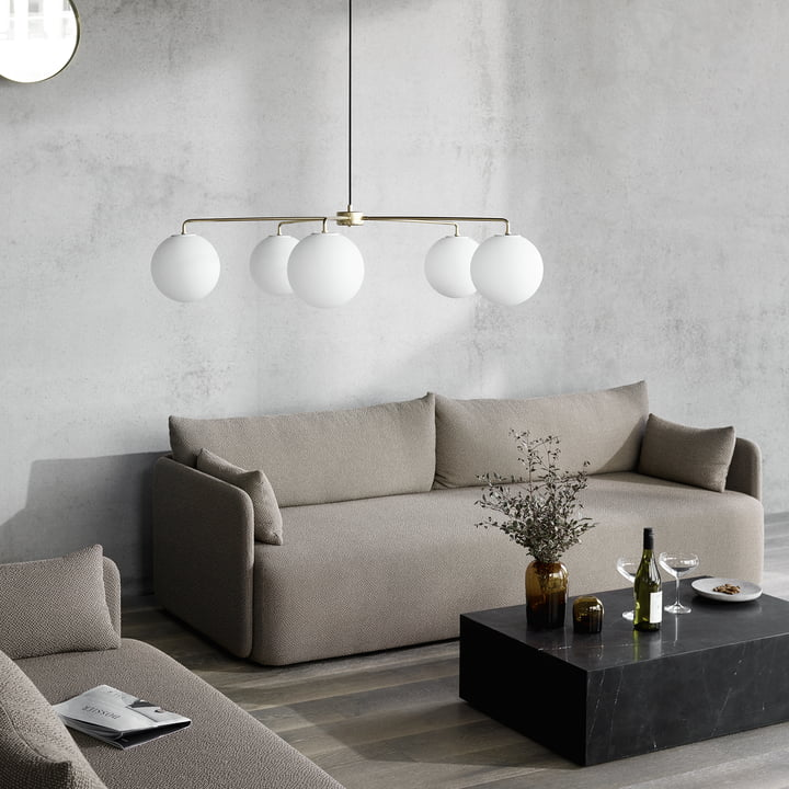 The Menu - Offset Sofa in a Stylish Environment