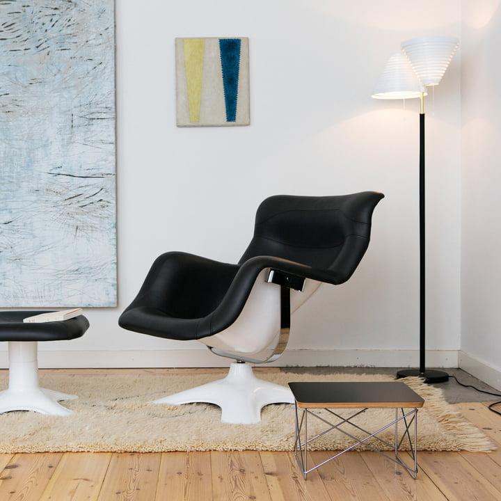 Artek - Floor Lamp A809 in the Living Room