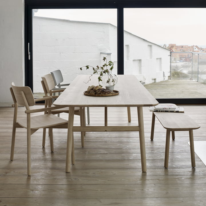 The Skagerak - Hven Bench with Matching Table and Chairs