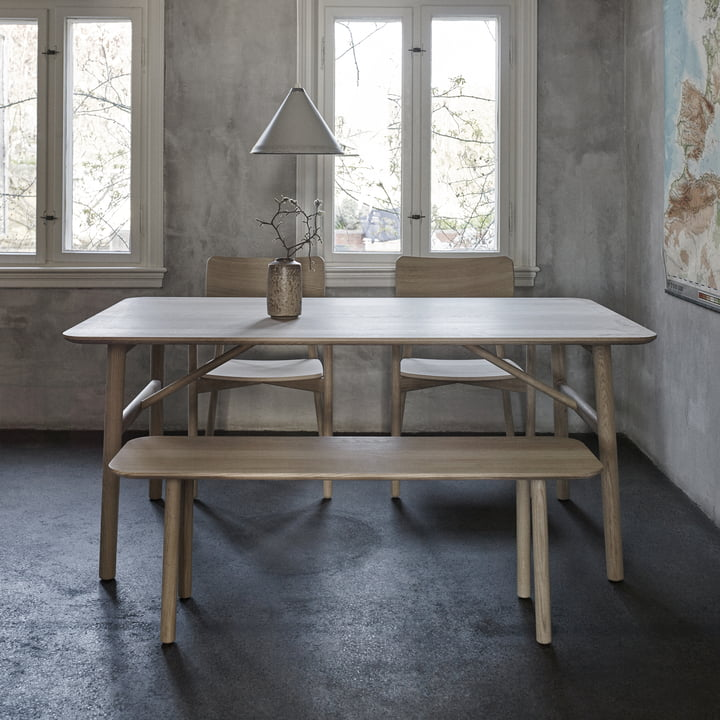 The Skagerak - Hven Bench with Matching Tables and Chairs from the Hven Series