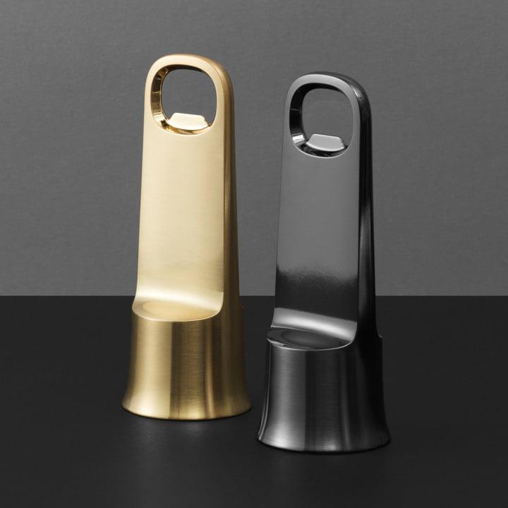 The Normann Copenhagen - Bell Bottle Opener in Gold and Black