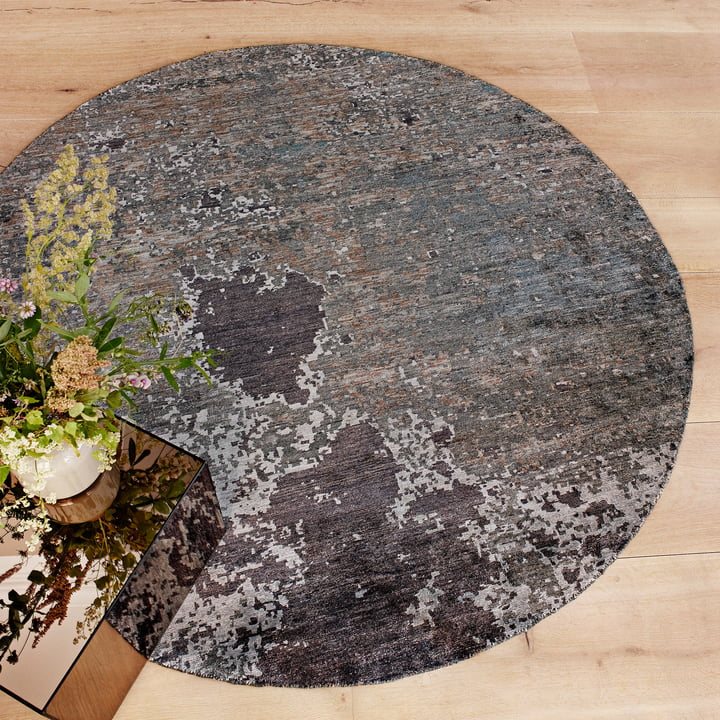 The Massimo - Moon Night Rug with Plant