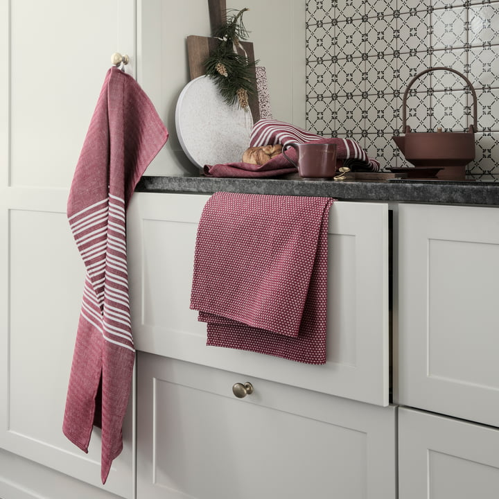 Horizontal Tea Towel by Georg Jensen Damask