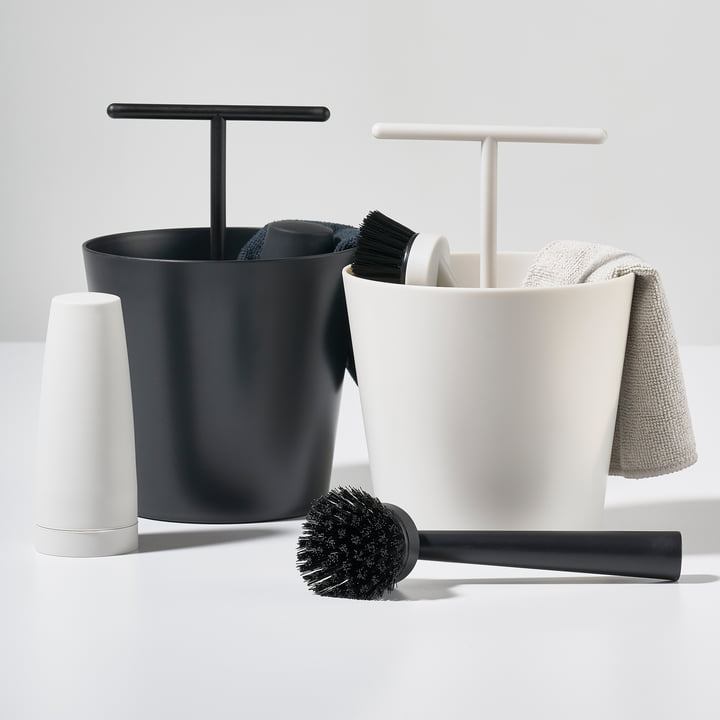 bucket dishwashing set by zone denmark. Black Bedroom Furniture Sets. Home Design Ideas