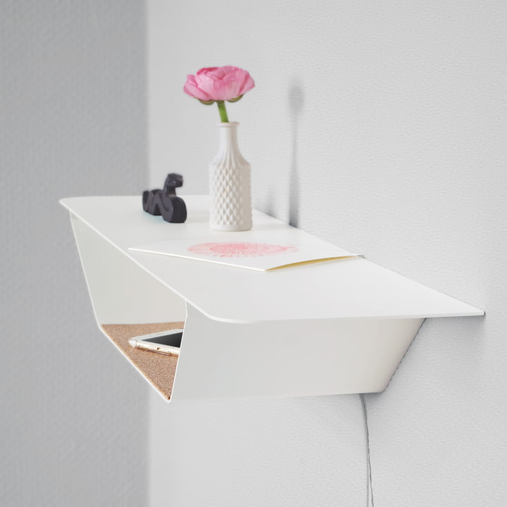 The vonbox - RAY Shelf in White