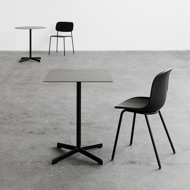 Neu Table by Hay with Square Tabletop