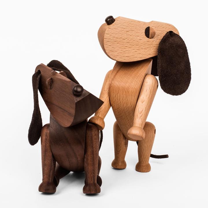 ArchitectMade - Oscar and Bobby Wooden Dog