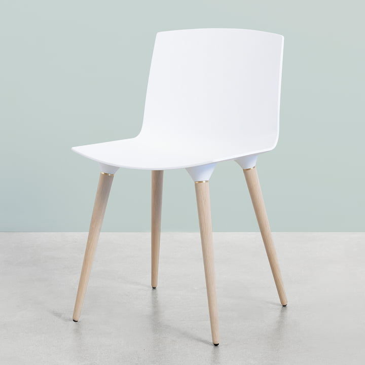 The Andersen Furniture - TAC Chair in Oak / White