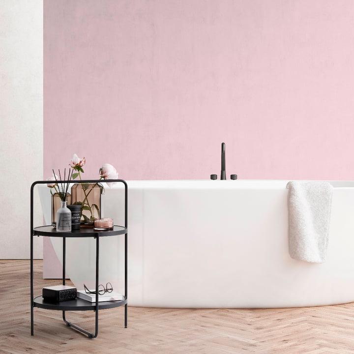 The Andersen Furniture - Side Table in Black / Black in the Bathroom