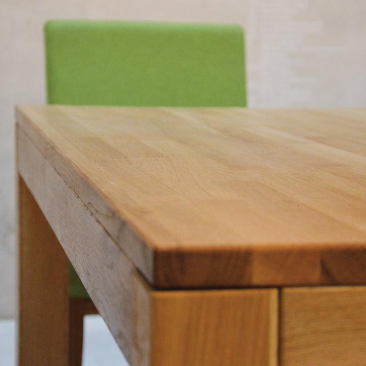 Cana Wooden Table by Jan Kurtz