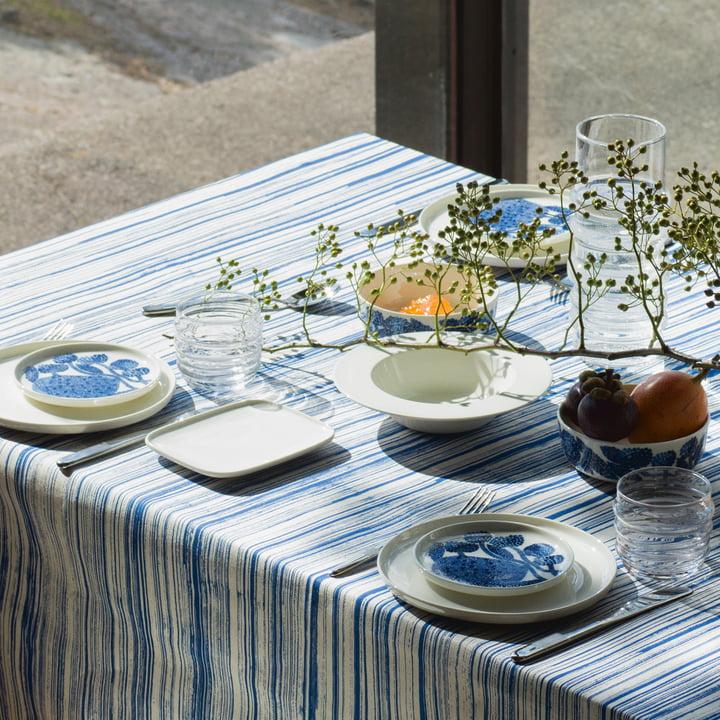 The Marimekko - Oiva Mynsteri Plate on the Table