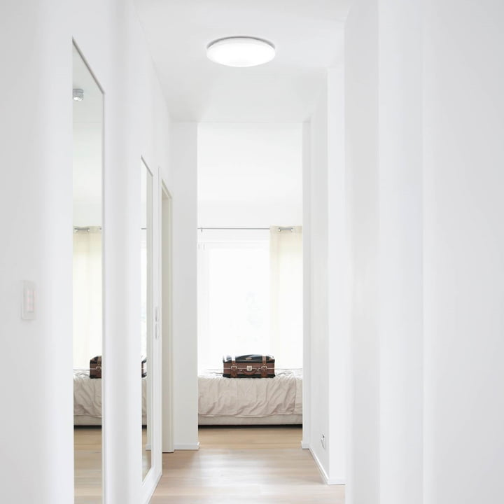 Osram - SMART+ Wall and Ceiling Lamp in the Hallway