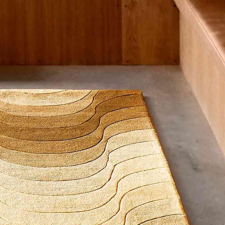 The Verpan - Wave Rug in Detail