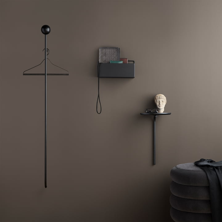 Pujo Coat Rack and Wall Table by ferm Living
