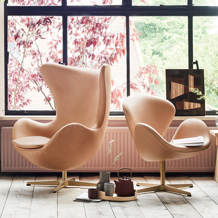 The Fritz Hansen - Anniversary Egg Chair and Swan Chair
