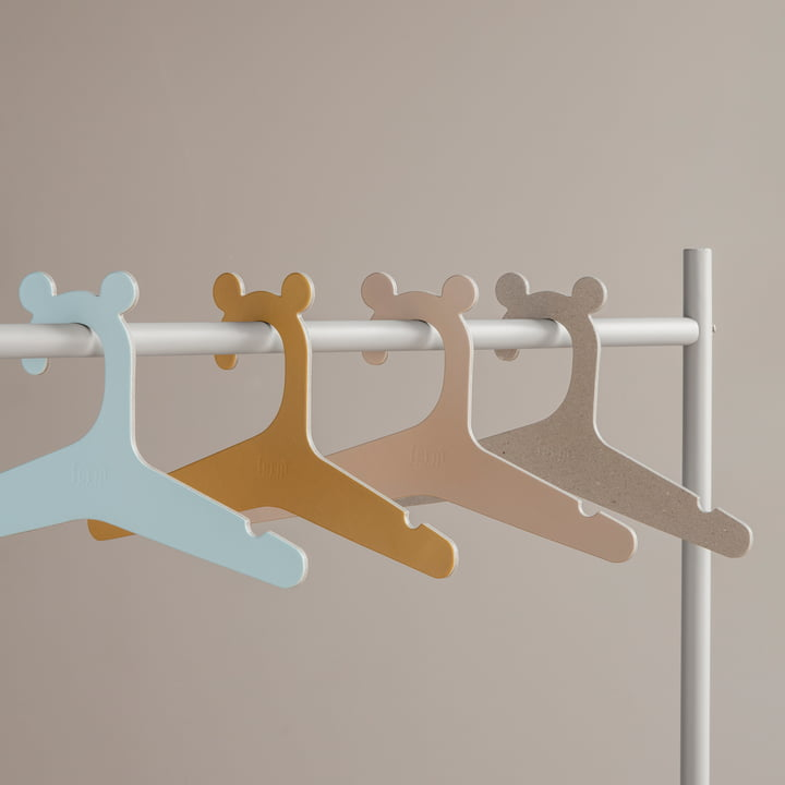 Kids Clothes Rack with Coat Hangers by ferm Living