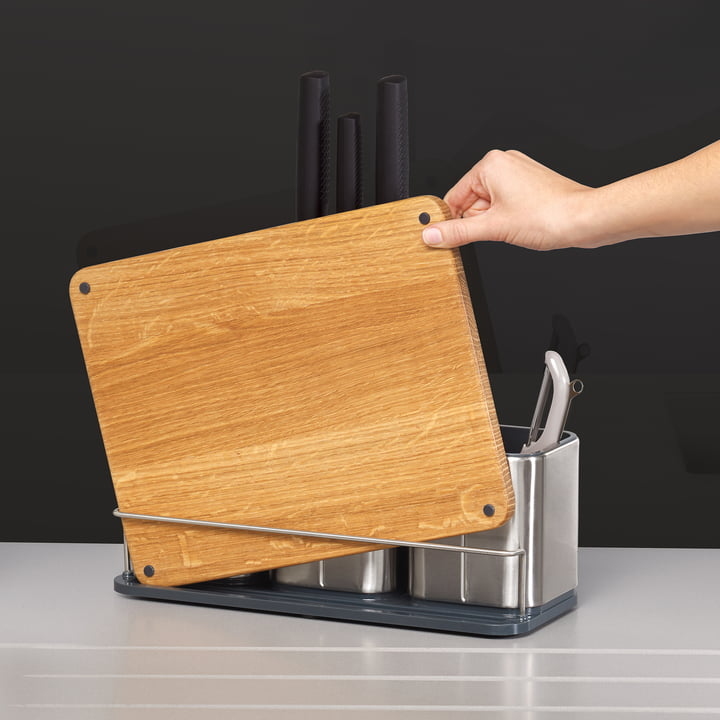 CounterStore 100 Kitchen Organiser with Chopping Board by Joseph Joseph