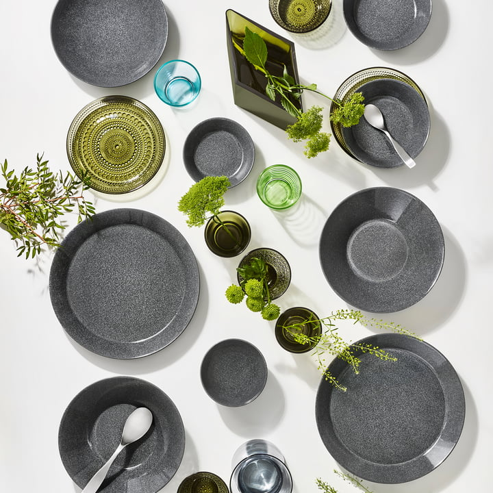 Teema Tableware by Iittala in Speckled Grey