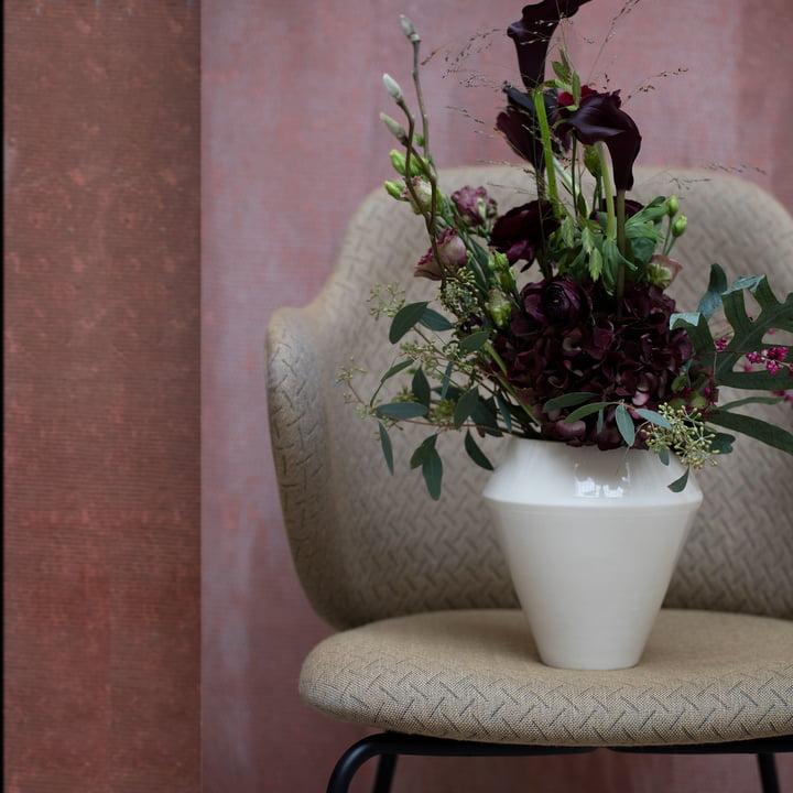 Lassen Chair by Rimm Vase from by Lassen