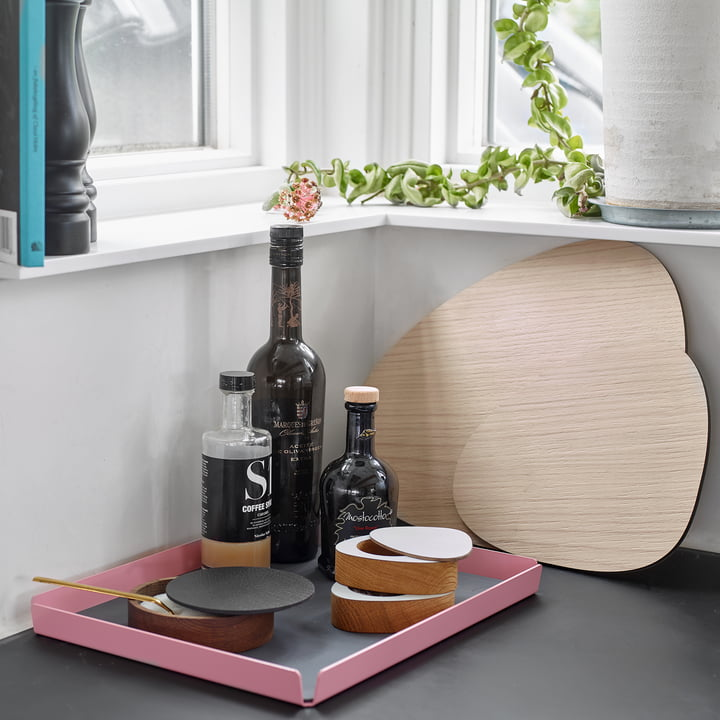 Cut&Serve Chopping Board Square Tray L by LindDNA