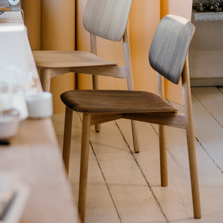 The Hay - Soft Edge 12 Chair, Smoked Oak