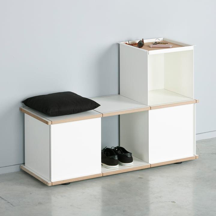 The Konstantin Slawinski - YU Bank 3 x 1, white / white