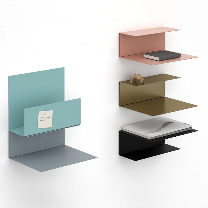The Konstantin Slawinski - El Wall Shelf in Various Colours