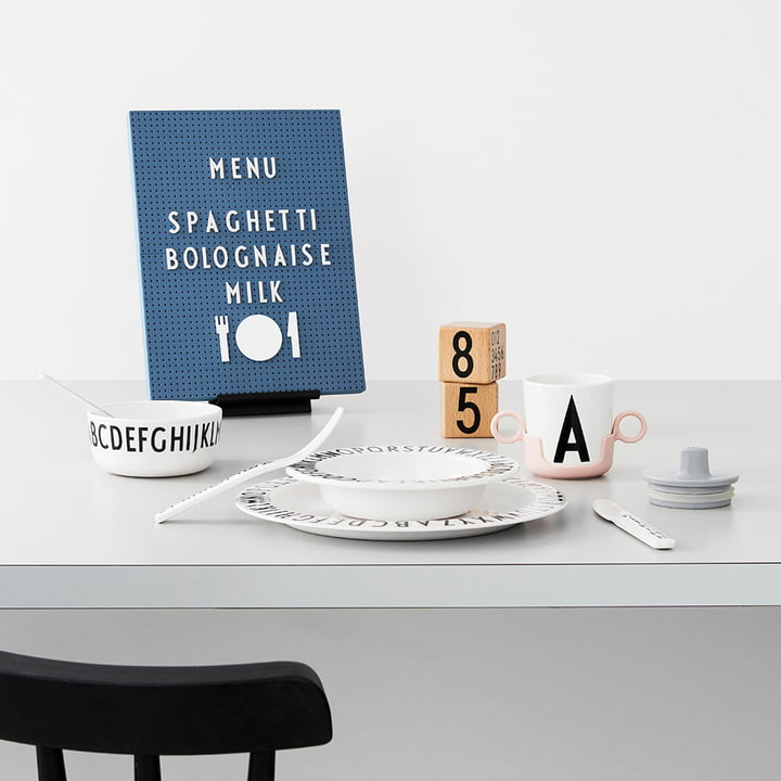 Design Letters - Message Board - Icons with Matching Tableware
