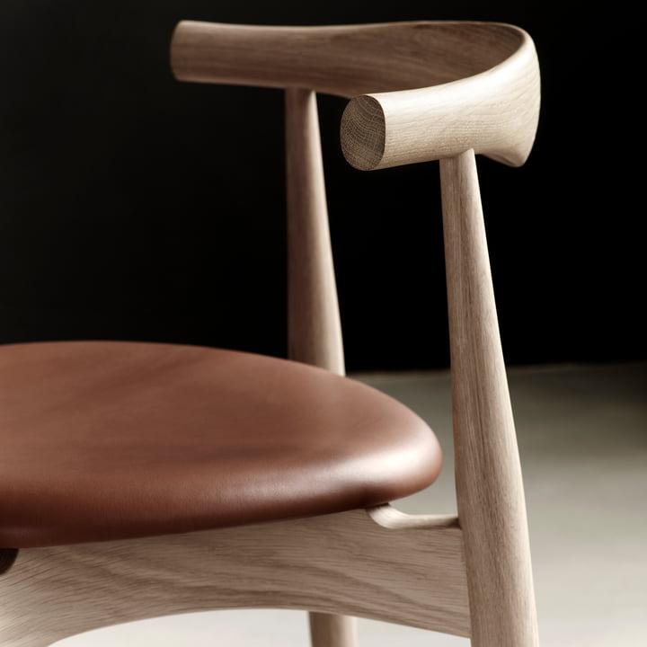 The Carl Hansen - CH20 Elbow Chair in Detail