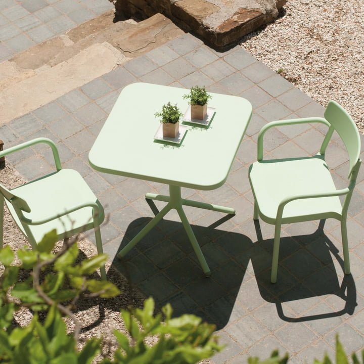 Emu - Grace Series Bistro Table and Armchair