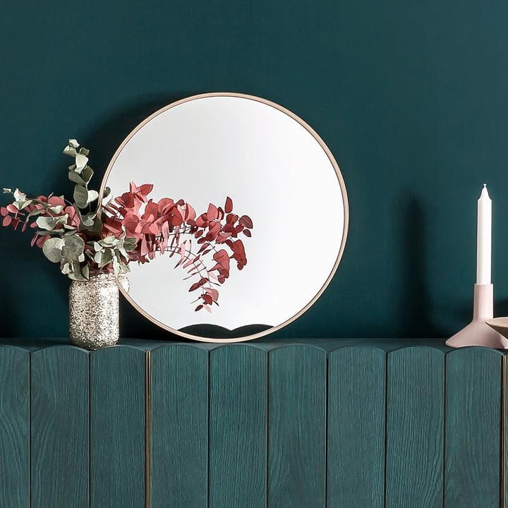 Odilon Wall Mirror by Hartô