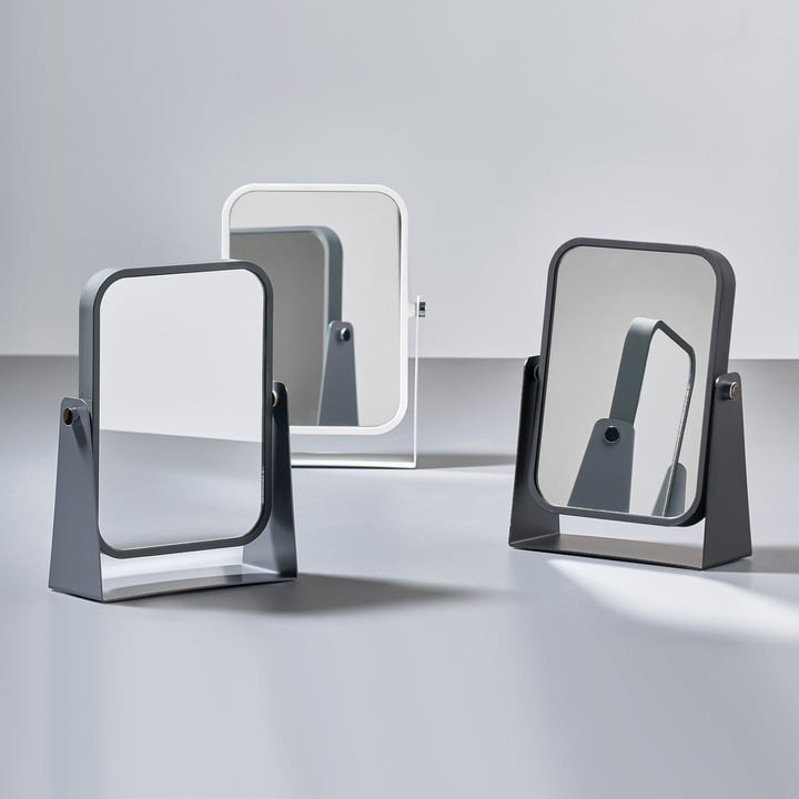 The Zone Denmark - Table Mirror with 2 Mirrored Surfaces and Magnifying Effect