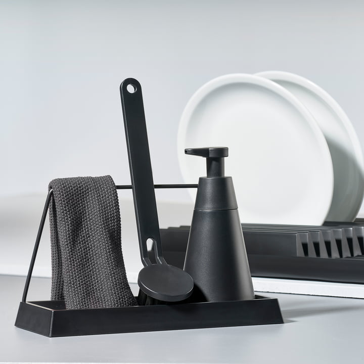 Zone Denmark - Dishcloth, Dry Art Set and Dish Rack